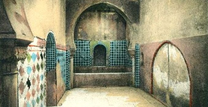 baños reales alhambra sala caliente