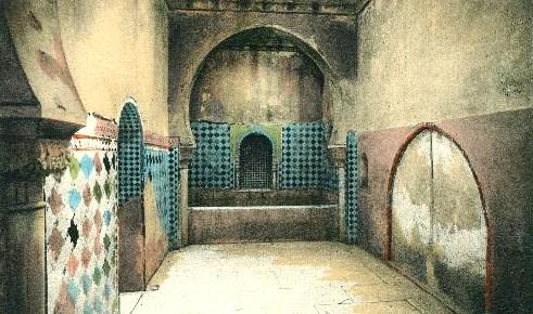 Sala Caliente de los Baños Reales de la Alhambra