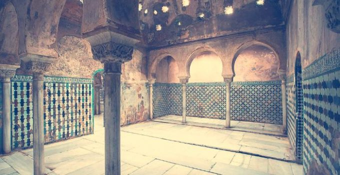baños reales alhambra sala templada