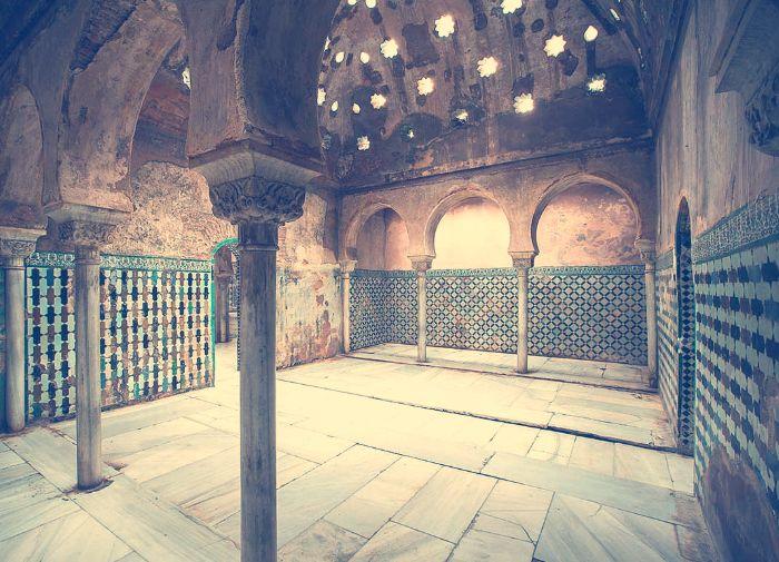 Sala Templada de los Baños Reales de la Alhambra