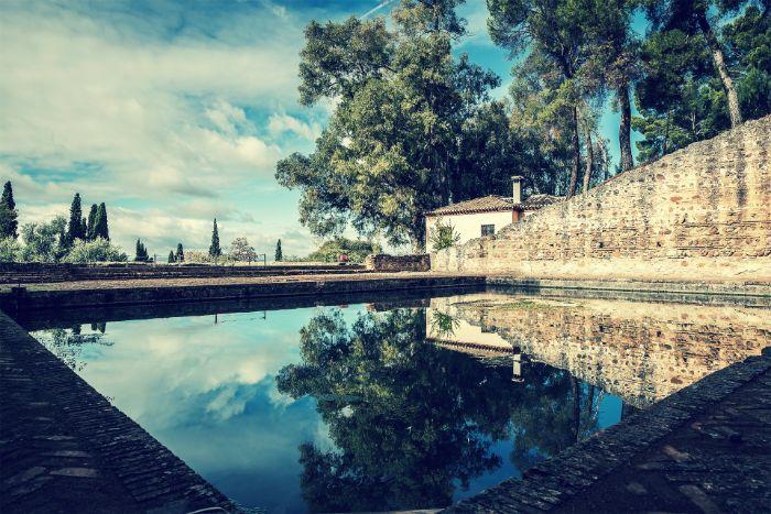 El Albercón de las Damas del Generalife, Alhambra