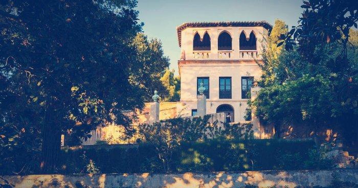 El Mirador Romántico de la Alhambra, en el Generalife