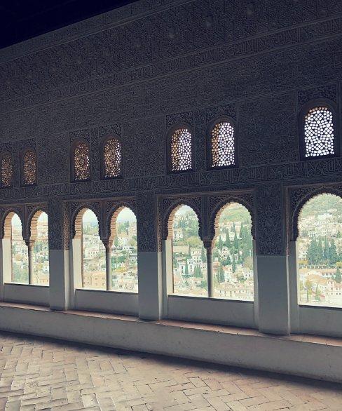 Interior del Oratorio del Mexuar, Alhambra