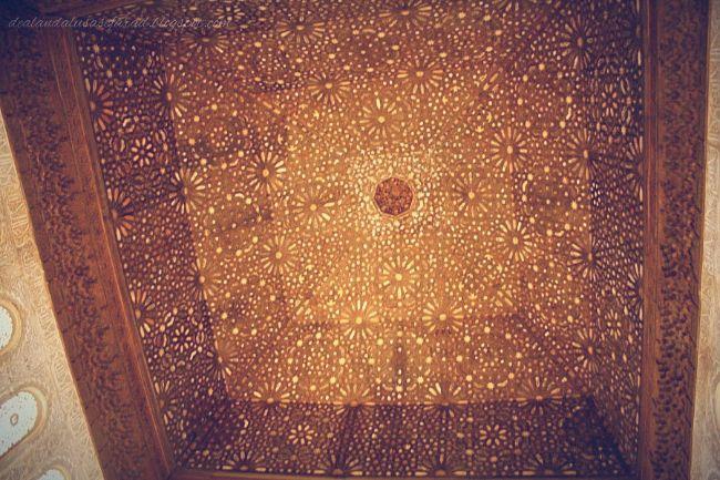 el salon de embajadores alhambra granada cupula