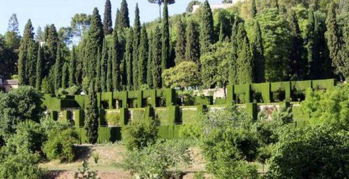 jardines nuevos del generalife