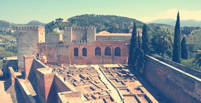 la alcazaba alhambra granada