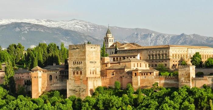 Qué es la Alhambra. La Alhambra vista desde el Albaicín
