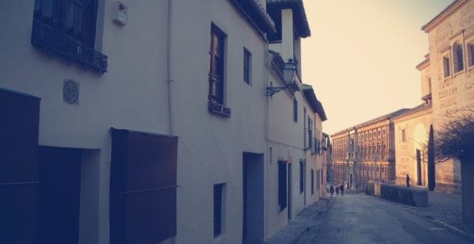 la calle real de la alhambra granada