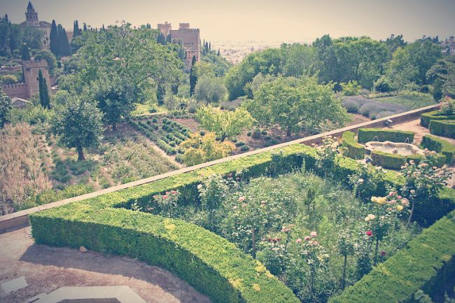 """Jardines de la Alhambra o """"Altos del Generalife"""""""