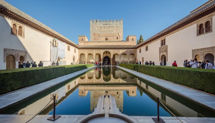 Patio de los Arrayanes, Alhambra