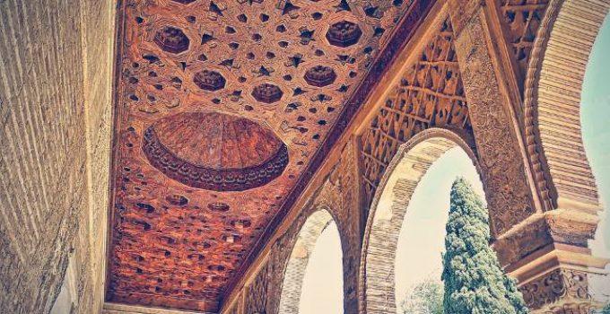 sala de los mocarabes alhambra granada