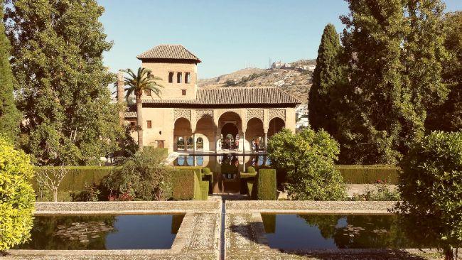 La Torre de las Damas en el Partal de la Alhambra