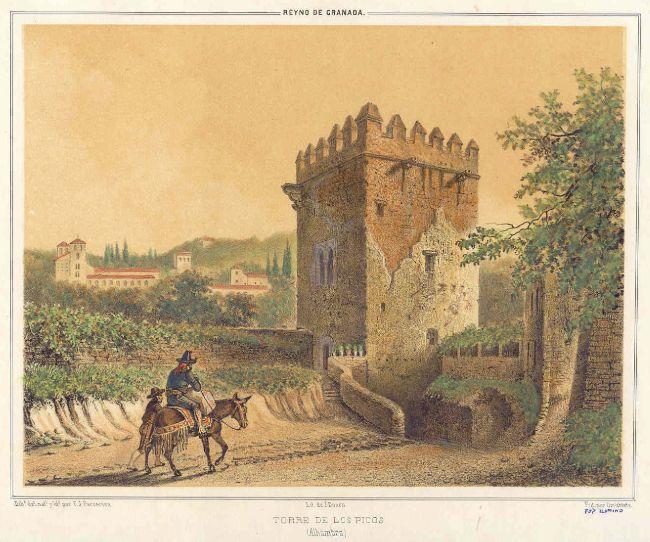 torre de los picos, alhambra